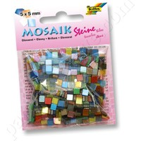Folia Mozaik 700 Adet, 20 Renk, Parlak 5X5 Mm 59109