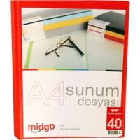 Midgo A4 40'lı Sunum Dosyası Ng-40A -50409