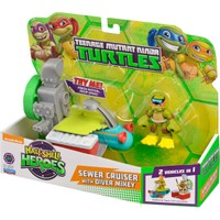 Ninja Turtles Heroes Mini Figür Ve Arabası 96700