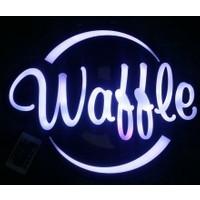 Projeneon WAFFLE LED TABELA KUMANDALI 16 RENK 43X43cm