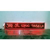 Projeneon Yaz Sil Neon Tabela100 x 15 Cm 1 Kalemli