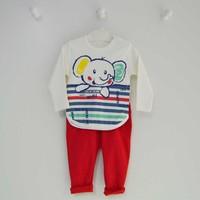 Wogi Baby 7253 2Li Erkek Bebek Takımı