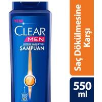 Clear Şampuan Saç Dökülmesine Karşı Etkin 550 ml