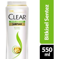 Clear Şampuan Bitkisel Sentez 550 ml