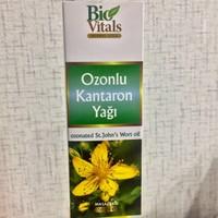 Bio Vitals Ozonlu Kantaron Yağı 50Cc