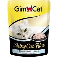 Gımcat Shınycat Pouch Tuna Balıklı Yengeçli Kedi Maması 70Gr