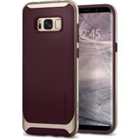 Spigen Samsung Galaxy S8 Plus Kılıf Neo Hybrid Burgundy - 571CS21649