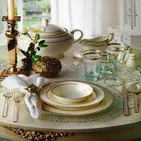 Pierre Cardin Tiffany Gold Yemek Takımı