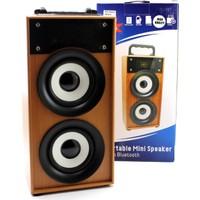 Polygold Bluetooth Micro Sd Fm Destekli Şarjlı Speaker Ses Sistemi Pg-410