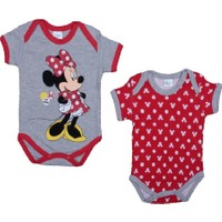 Disney Minnie Mouse 2'li Kısa Kol Body