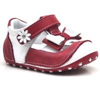 Nino Hakiki Deri KIRMIZI İlk Adım Tam Ortopedik Kız Bebek Ayakkabı