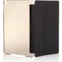 Dark iPad Air 2 Siyah Smart Cover ve Deri Kılıf+Ekran Koruyucu Hediye (DK-AC-IP6KSDB)