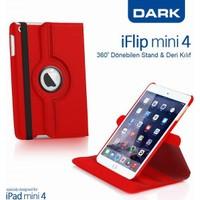 Dark iPad Mini4 360 Dönebilen Kırmızı Kılıf (DK-AC-IPM4KRTRD)
