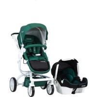 Casual Quantum Travel Sistem Bebek Arabası Yeşil
