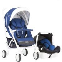 Casual Vista Travel Sistem Bebek Arabası Mavı