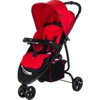 Crystal Baby 216 Benito Bebek Arabası Kırmızı