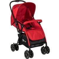 Prego 2082 Innova Çift Yönlü Bebek Arabası Kırmızı