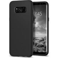 Spigen Samsung Galaxy S8 Kılıf Liquid Crystal Matte Black - 565CS21613