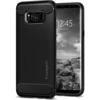 Spigen Samsung Galaxy S8 Kılıf Rugged Armor Black - 565CS21609