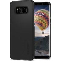 Spigen Samsung Galaxy S8 Plus Kılıf Thin Fit Black (SF coated) - 571CS21676
