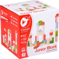 Classic World Ahşap 50 Parça Bloklar