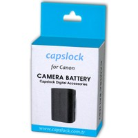 Canon 6D Batarya Pil * Capslock Lp-E6