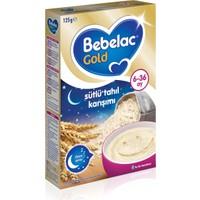 Bebelac Gold Gece Sütlü Tahıl Karışımı Tahıl Bazlı Kaşık Maması 125 gr