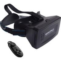 """Probiel Ritech Riem 2 Google Cardboard Plastik Bluetooth Kumandalı 6"""" Sanal Gerçeklik Gözlüğü"""