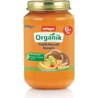 Milupa Organik Yulaflı Meyve Püreli Kavanoz Maması 200 gr