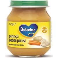 Bebelac Pirinçli Sebze Püreli Kavanoz Maması 125 gr
