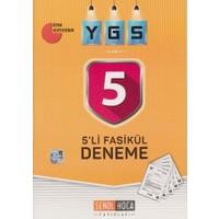 Şenol Hoca Ygs 5'li Fasikül Deneme