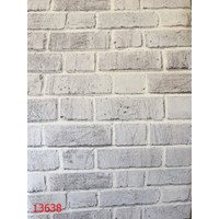 Taş Desenli İthal 3 Boyutlu Duvar Kağıdı