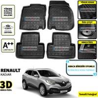 Renault Kadjar 3D Oto Paspas Seti