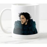 Miss Cici Game Of Thrones Jon Snow Baskılı Kupa Bardak
