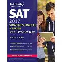 Sat 2017 Strategies, Practice & Review With 3 Practice Tests Online + Book