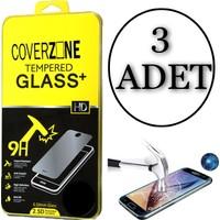 Coverzone Asus Zenfone 3 Max 5,2'' Zc520Tl Kırılmaz Tempered Cam Koruyucu 3 Adet