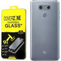 Coverzone Lg G6 Kılıf 0.2 Mm Silikon + Kırılmaz Cam