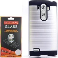 Gpack LG G4C Kılıf Darbe Emici Katmanlı Case +Cam