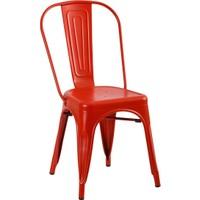 Kozza Home Endüstriyel Metal Tolix Sandalye