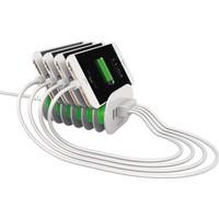 Tsmart 6 Usb Çıkışlı Estetik Dizayn 7A Şarj Cihazı