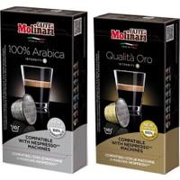 Caffè Molinari 100 Adet Karışık Nespresso® Uyumlu Kapsül Kahve