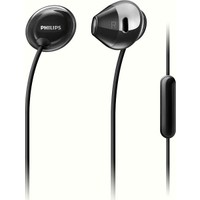 Philips She4205Bk/00 Kulakiçi Mikrofonlu Siyah Cep Telefonu Kulaklığı