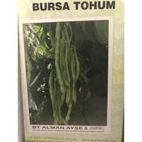 Bursa Tohum Bt Alman Ayşe 5 (Sırık) Fasulye Tohumu / 1 Kg