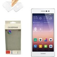 Case Man Huawei P7 Silikon Kılıf Ultra İnce Koruma Telefonunuza Tam Uyumlu