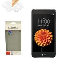 Case Man LG K7 Silikon Kılıf Ultra İnce Koruma Telefonunuza Tam Uyumlu