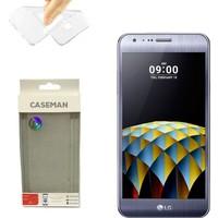 Case Man LG X Cam Silikon Kılıf Ultra İnce Koruma Telefonunuza Tam Uyumlu
