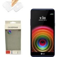 Case Man LG X Power Silikon Kılıf Ultra İnce Koruma Telefonunuza Tam Uyumlu