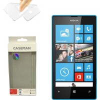 Case Man Nokia Lumia 532 Silikon Kılıf Ultra İnce Koruma Telefonunuza Tam Uyumlu