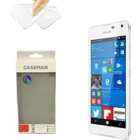 Case Man Nokia Lumia 650 Silikon Kılıf Ultra İnce Koruma Telefonunuza Tam Uyumlu
