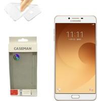 Case Man Samsung Galaxy C9 Pro Silikon Kılıf Ultra İnce Koruma Telefonunuza Tam Uyumlu